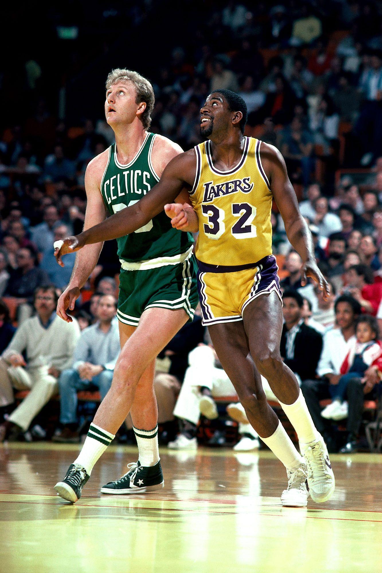 Lakers vs. Celtics (Magic vs. Bird era, 80s): Another case ...
