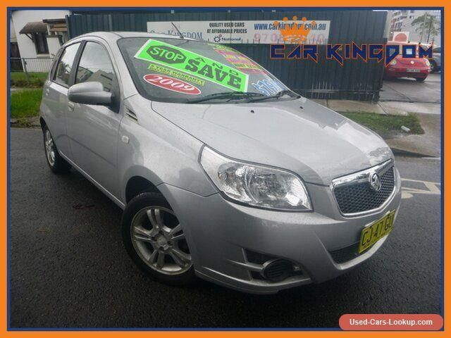 2009 Holden Barina TK MY09 Automatic 4sp A Hatchback #holden #barina #forsale #australia