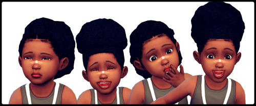Puff Series for Toddlers | Hair | by shespeakssimlish via