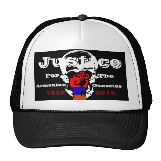 Armenian Genocide Hat  #ArmenianGenocide #100Years #Justice #1915NeverAgain #Hat #Cap