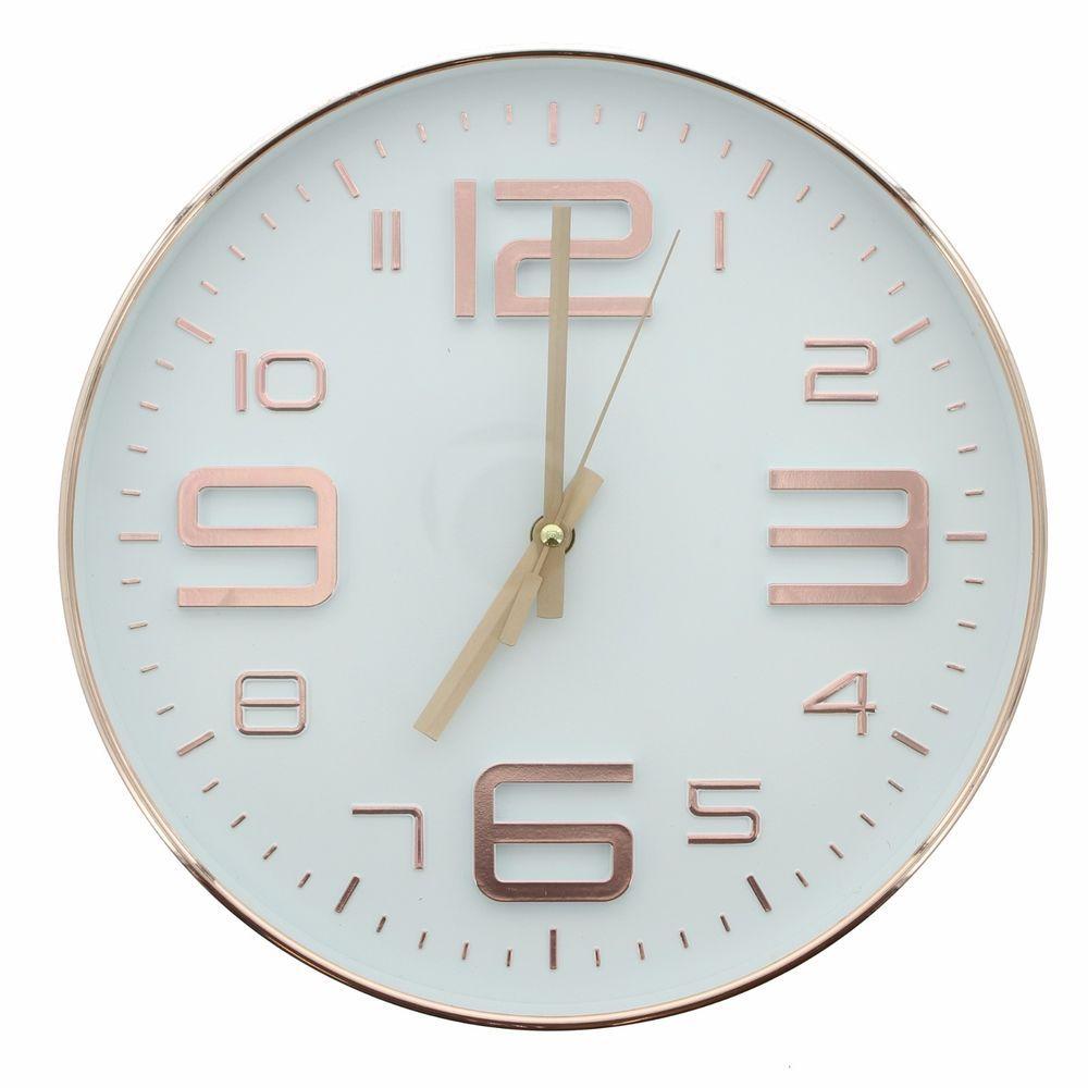Wanduhr Kupfer Uhr roségold eBay