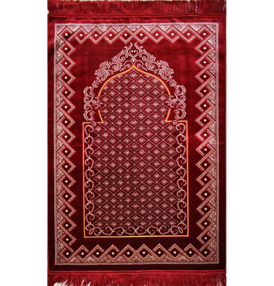 Velvet Wide Extra Large Prayer Rug