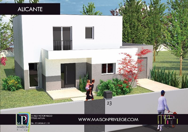 Construction maison modèle Alicante  Maison Privilège Maison - modeles de maison a construire