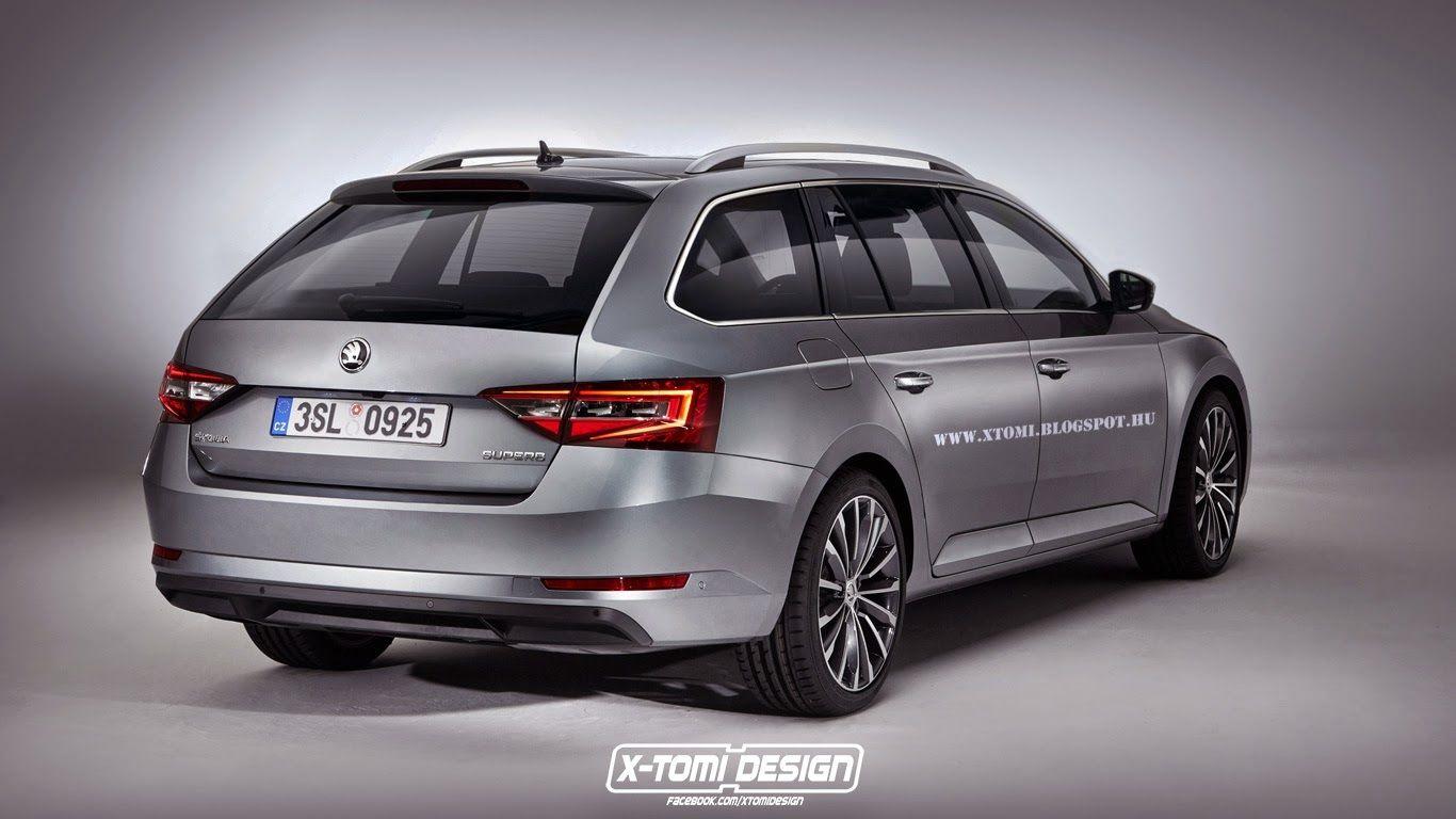 Skoda Superb Combi 2015 Autoblog Deutschland Luxury Cars 4