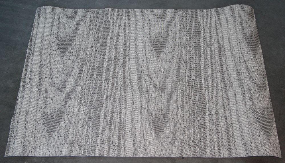 "Dogwood Woodgrain Pattern Woven Vinyl Rug 2'2"" x 3' by Chilewich NEW"