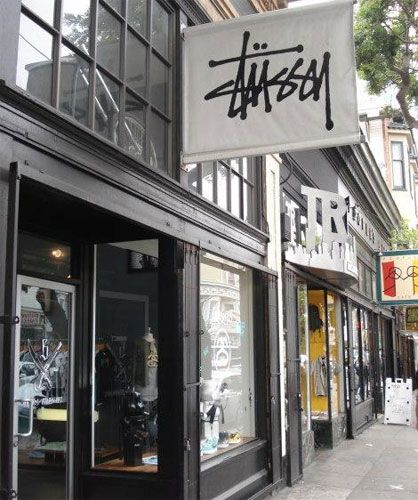 86e1fa760a7 Stussy San Francisco store, but our family knew it from beach towns/surfer  stores