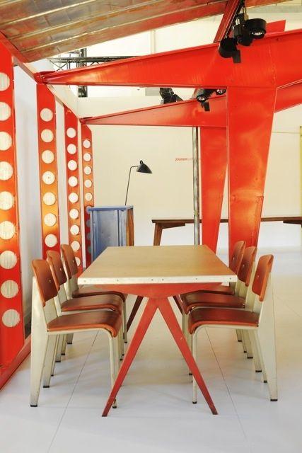 Vitra Em Table Jean Prouve 1950 Medium 78 75 L 35 5 W