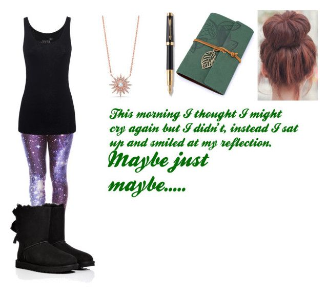 Untitled #189 by lexilove1999 on Polyvore featuring Juvia, UGG Australia and Parker