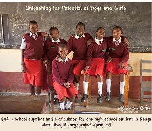 Kenya - Project #5 - A recent graduate of this program received a scholarship and now attends Harvard!