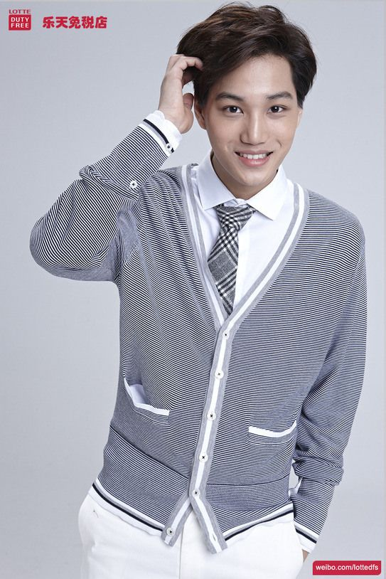 [140506] Kai (EXO) New Picture for Lotte Duty Free CF