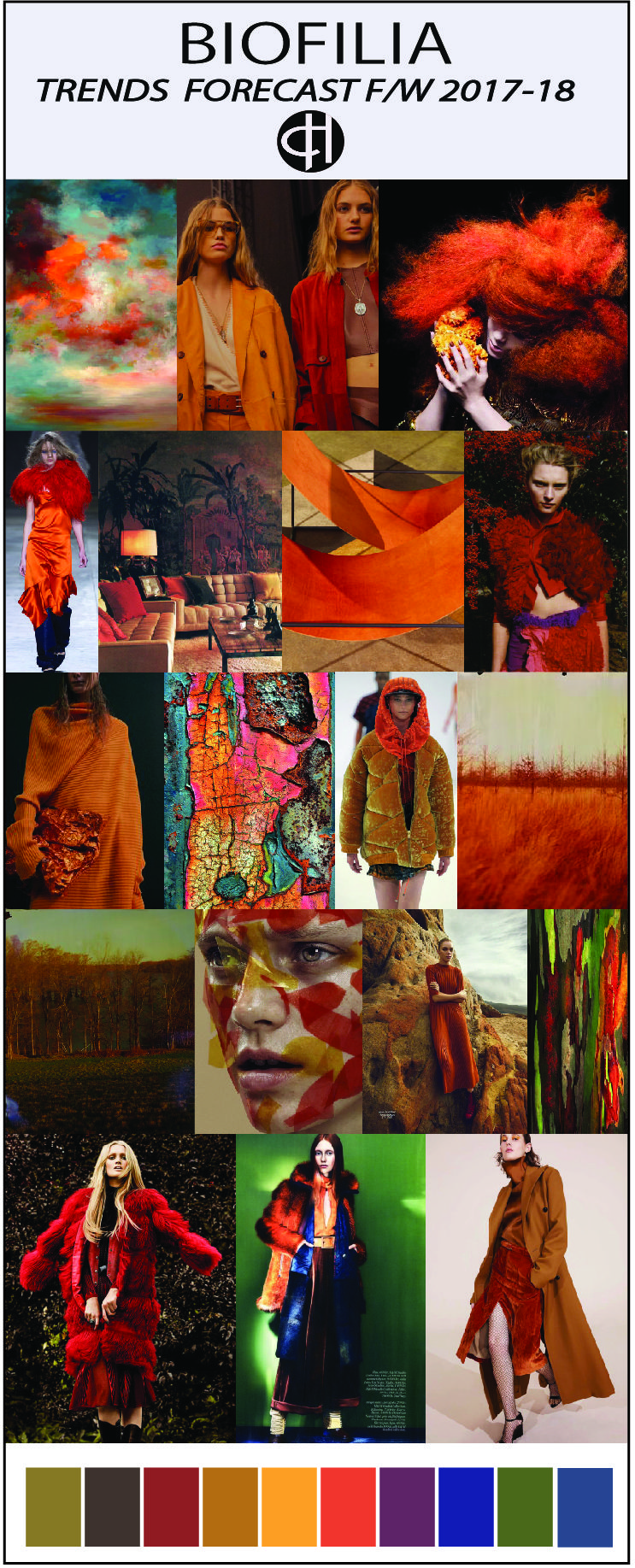 trends & colour f/w 2018 | 2018-19 Color and Fashion ...