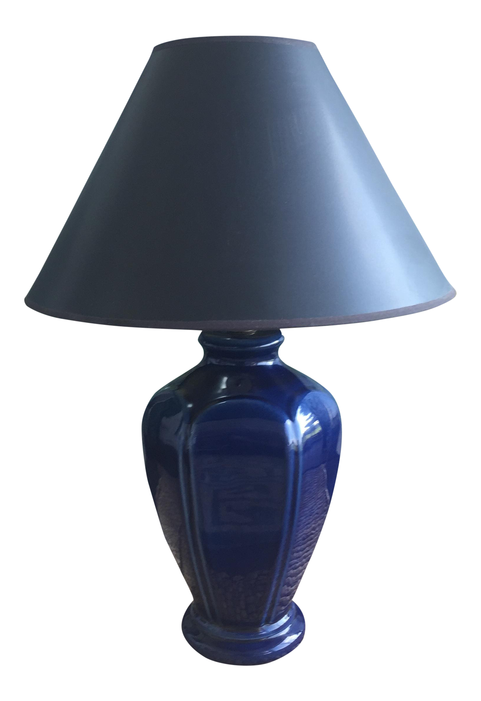 Exceptional Absolutely STUNNING Mid Century Eames Era Mid Century Royal Blue Lamp This  Gorgeous Lamp Would Fit In With Any Type Of Décor!