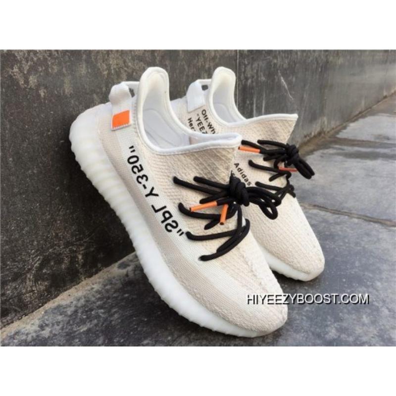 Off-White X Adidas Yeezy Boost 350 V2