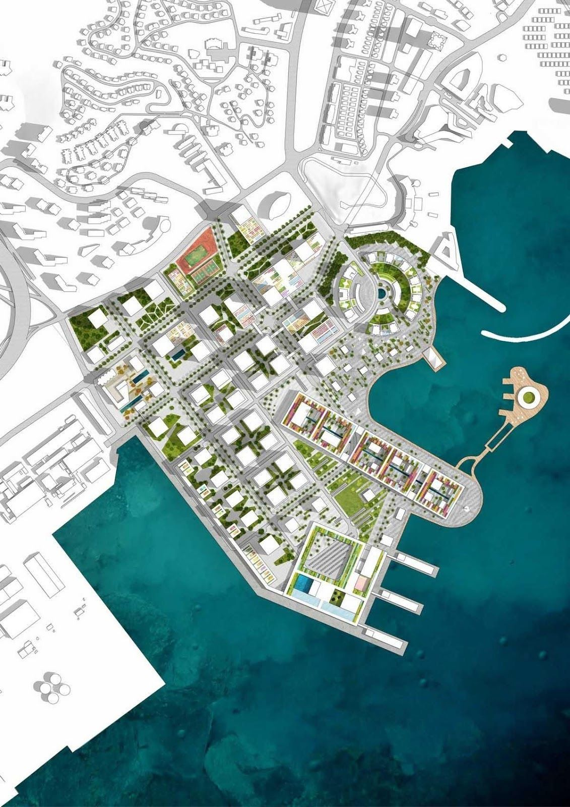 Prince Bay . Shenzhen    OMA . + pgive   Located in Shenzhen, Shekou was one of the pilot development areas during the first wave of China's...