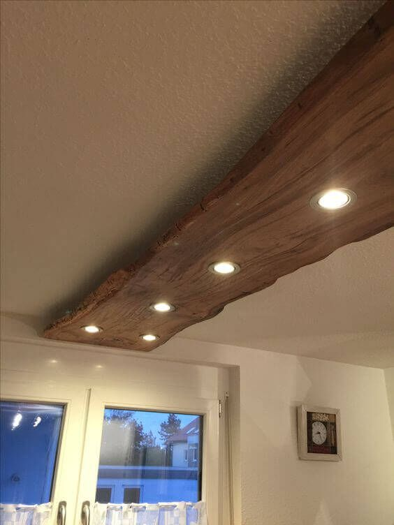 Living Edge Lighting Is Just One Of Our Roaches To Decor