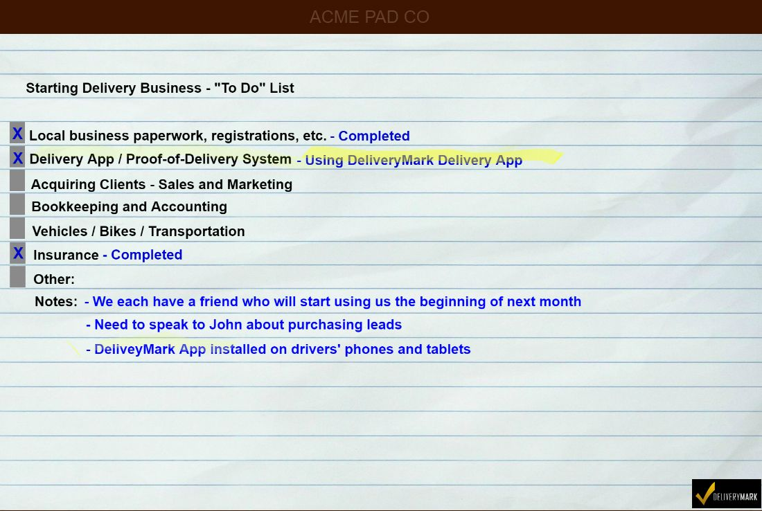 Starting A Delivery Business Starting A Courier Service The