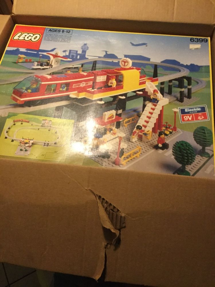 Rare Vintage Lego Airport Shuttle 6399 The Ultimate Toy