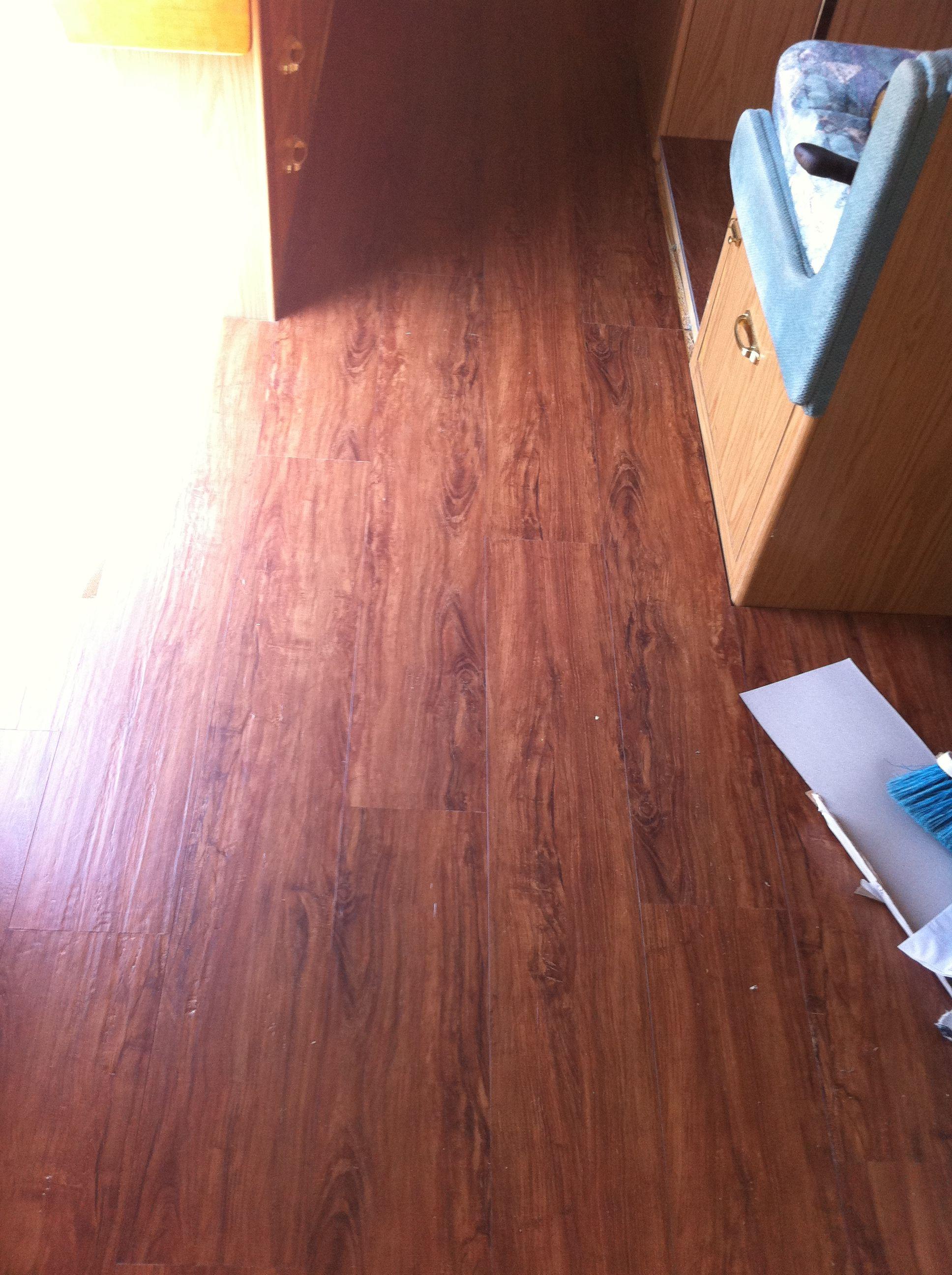 Laminated Quot Wood Quot Flooring Camper Plans Flooring