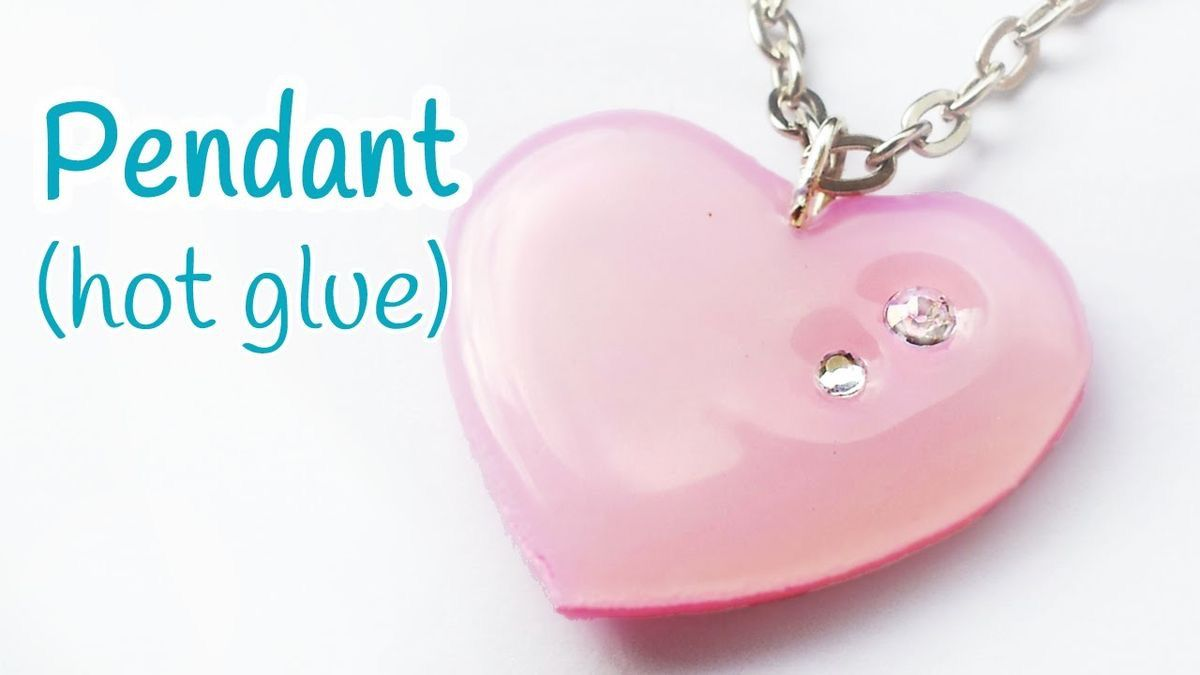 'DIY crafts: PENDANT (hot glue) EASY - Innova Crafts...!' (via Learn Your Way To Awesome)