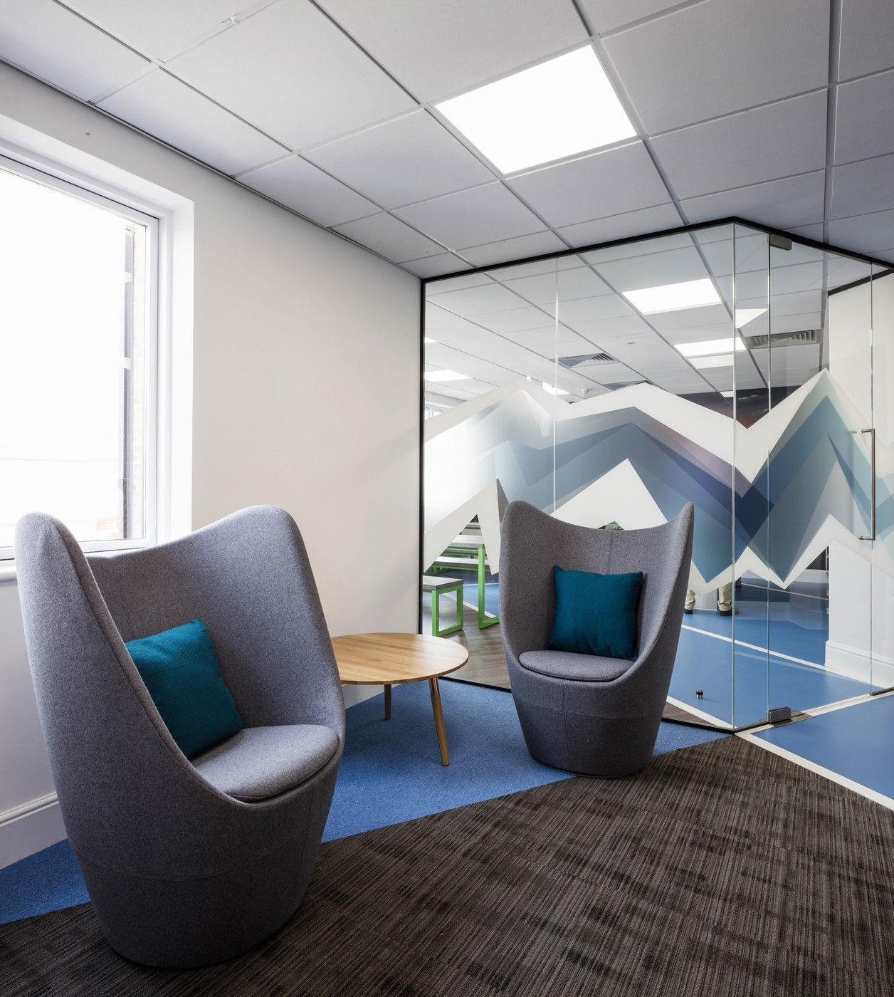 blue jelly atp office design workplace commercial corporate