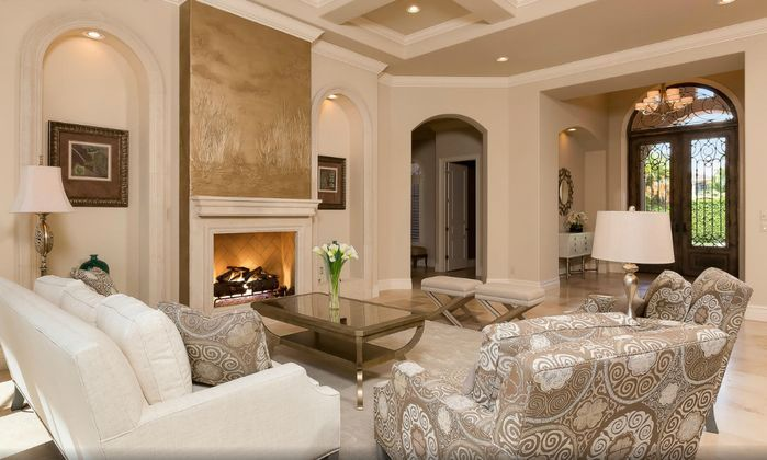 Elegant Traditional Living Room Photo By Visions Design