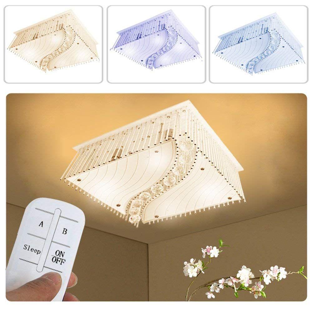 SAILUN® 40W LED Kristall Deckenleuchte Deckenlampe