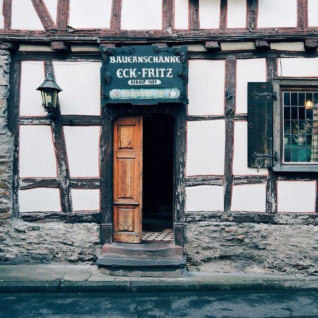Eckfritz. Erbaut 1597. Braubach.