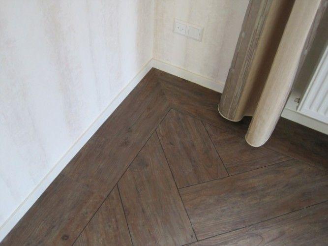 Pvc Vloer Visgraatmotief : Pvc vloer in visgraat huis
