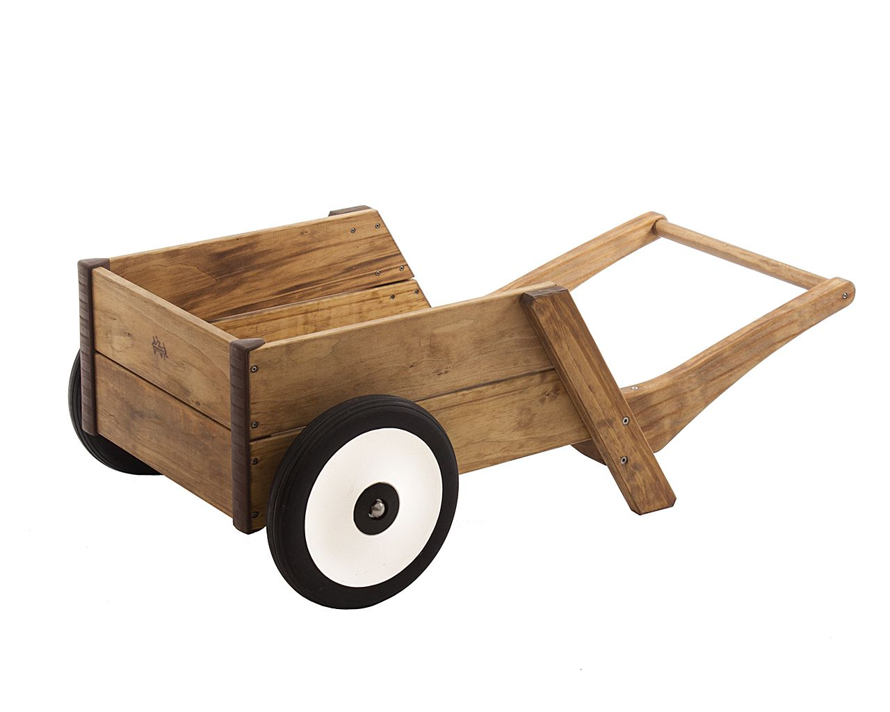 sturdy, child-sized and safe. this wheelbarrow will be