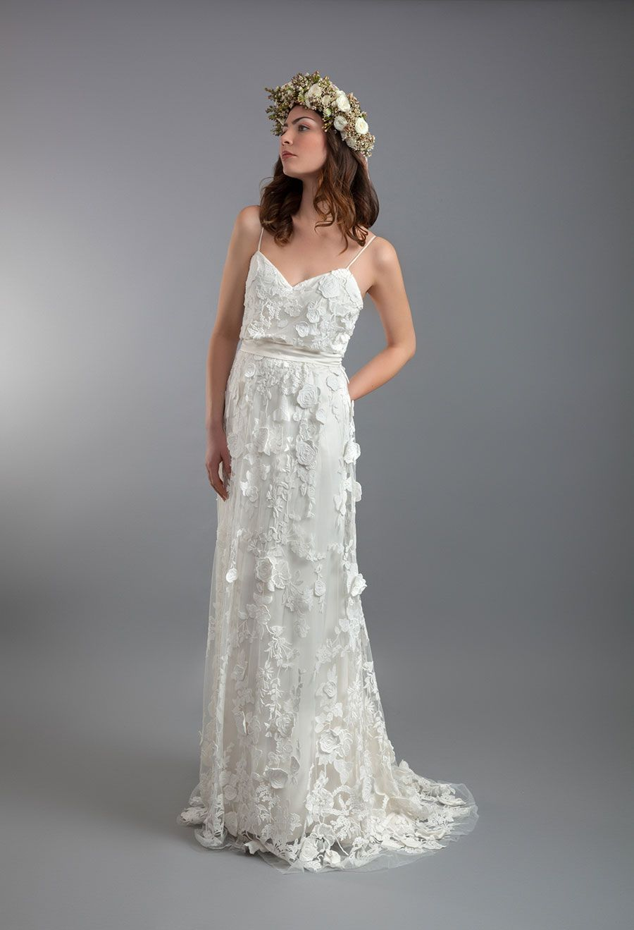 Stunning Shanna Melville Launches Bridal Collection Wildflowers and it us so pretty Wedding Dress Sample