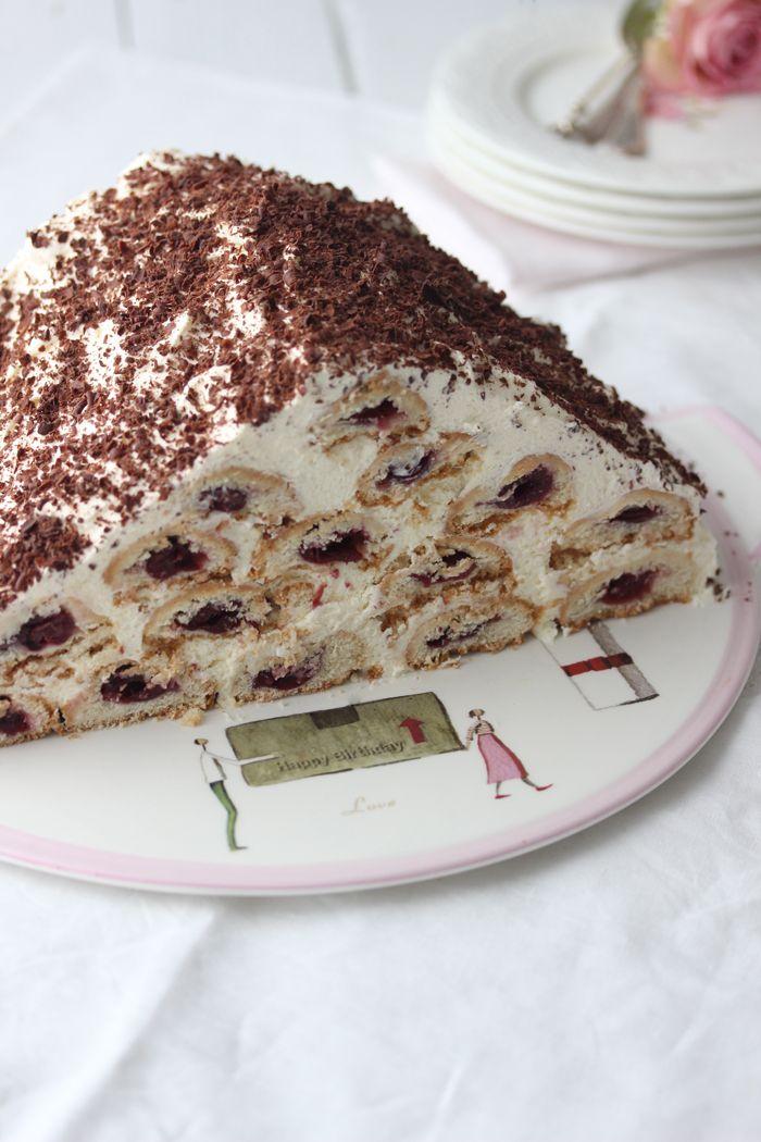 Kirschwolke Rezept Kreatives Pinterest Kuchen Kirschen Und
