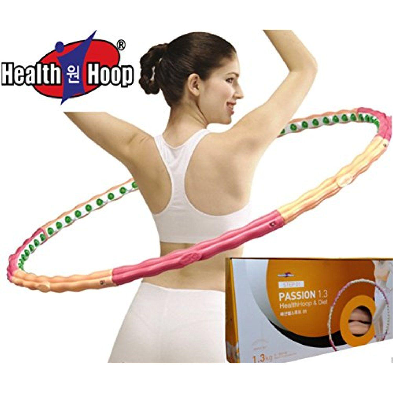 health hoop passion hula hoop magnetic massage 2 86lb 1 3kg exercise