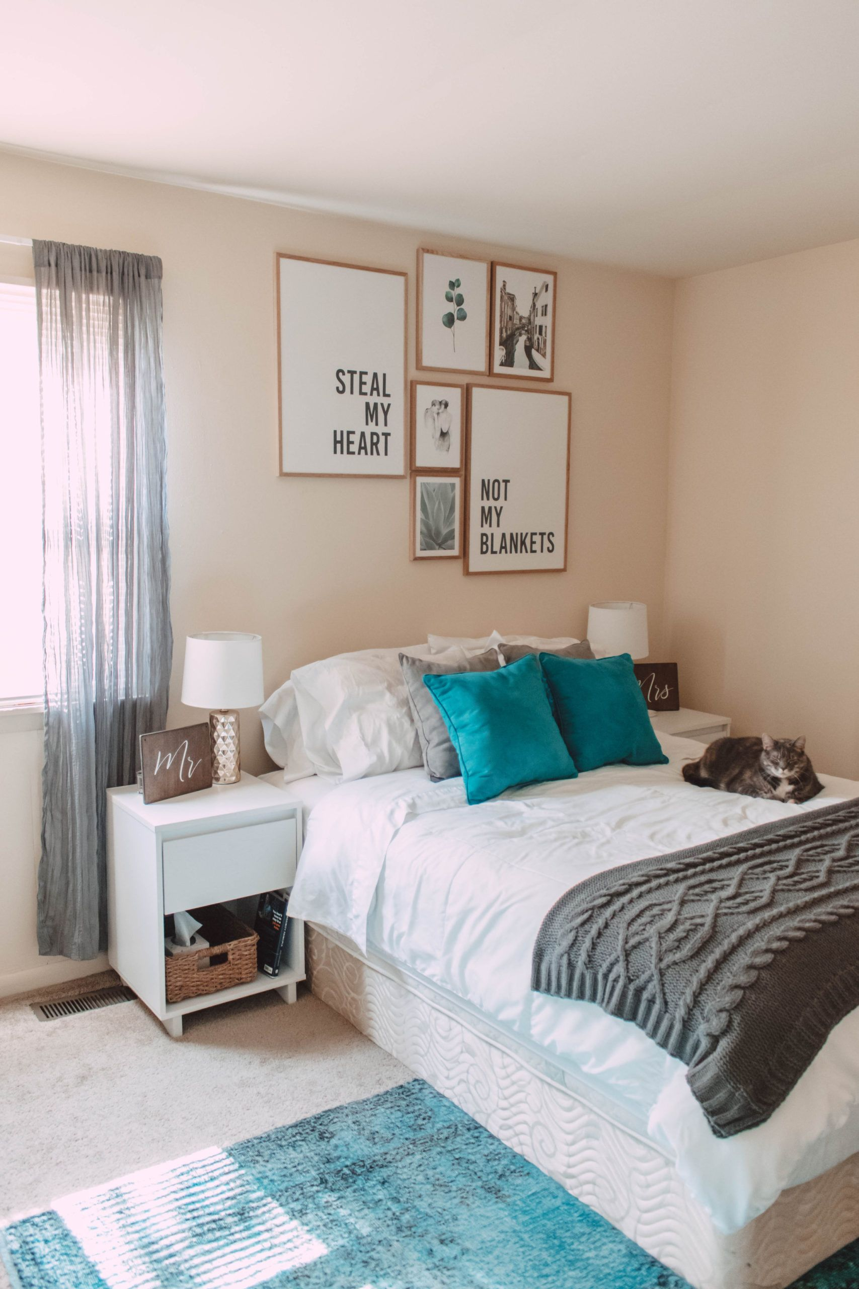 How to Achieve a Modern Bohemian Master Bedroom | She Saw ... on Bohemian Bedroom Ideas On A Budget  id=15689