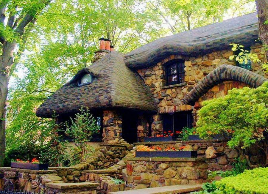 Old Stone Cottage In The Woods Oh My Gosh This Would Be Perfect For Me