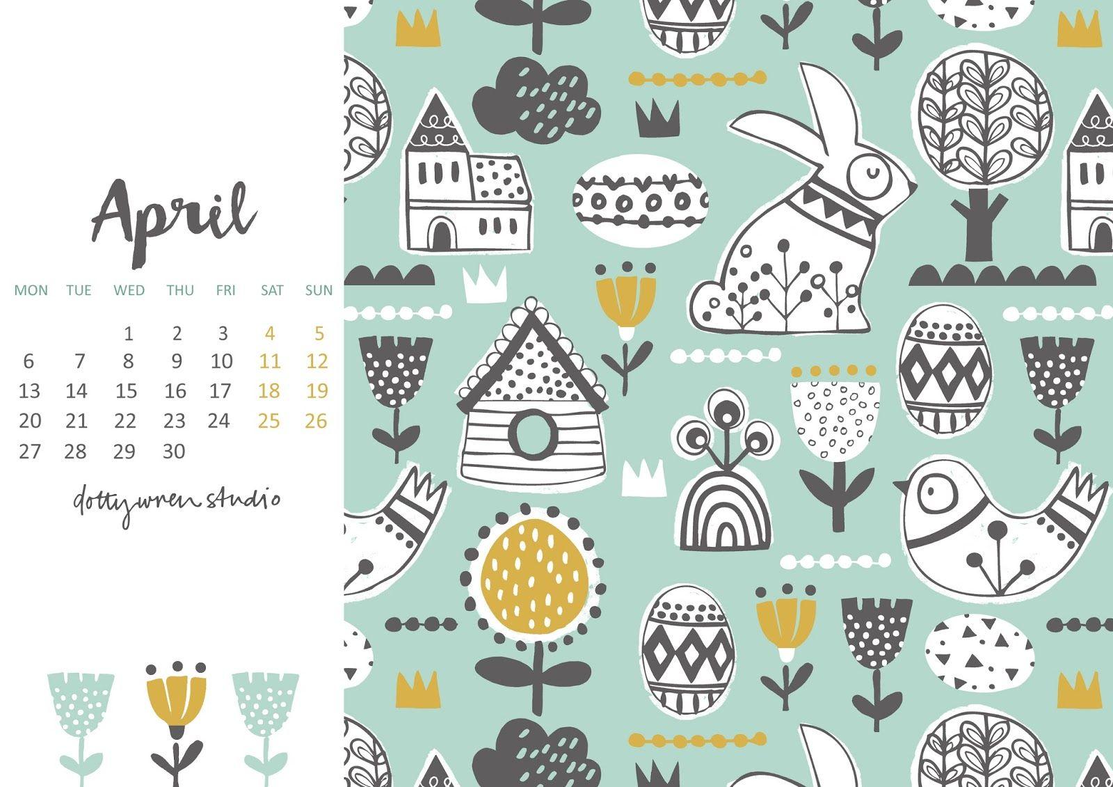 April Dates Free Poster Printables Free Printable Calendar Free Printables
