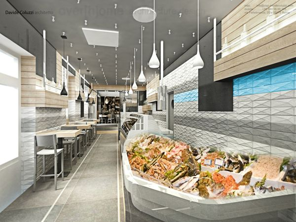 Sor Duilio Restaurant And Fish Market By Davide Coluzzi Restaurant Fish Restaurant Design