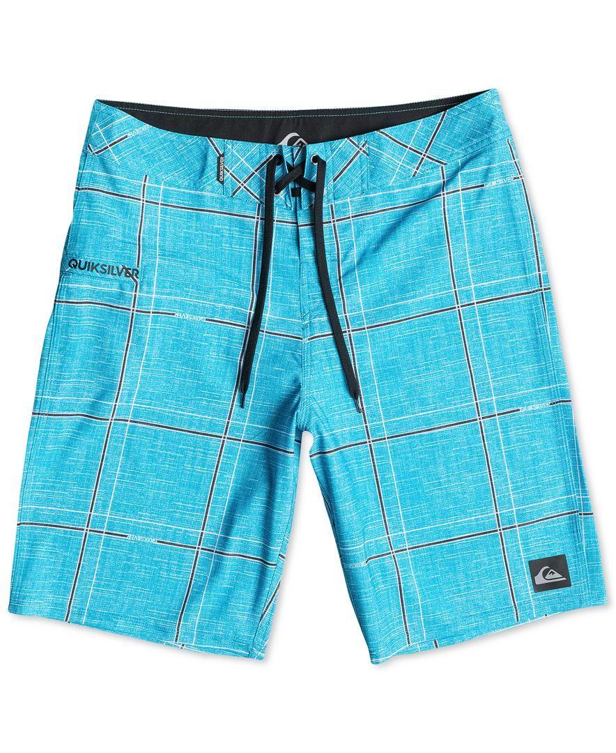 Quicksilver Electric Stretch 21 Board Shorts Swimwear Men Macy S Board Shorts Mens Swimwear Shorts