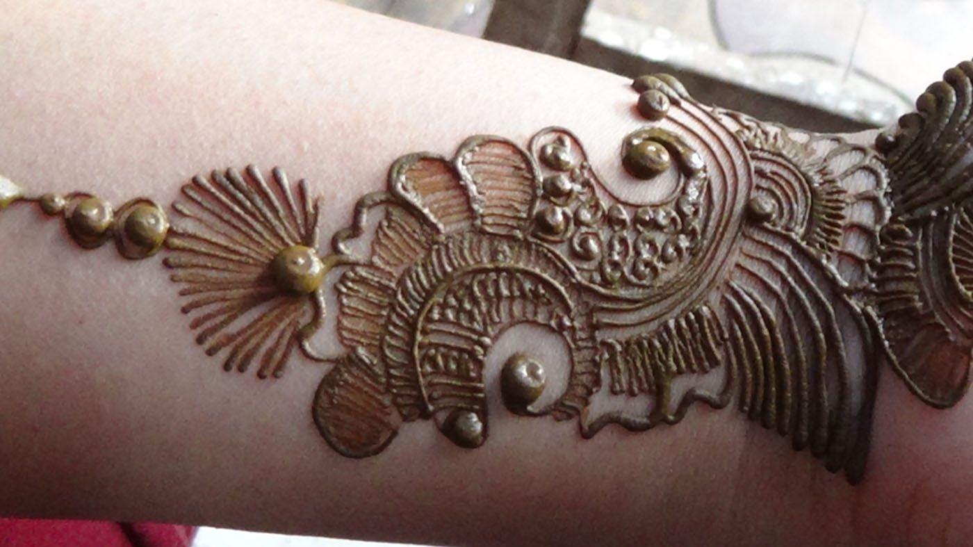 Apply Mehndi Hands : Best arabic mehendi how to apply henna mehndi tattoo