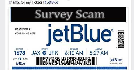 get free jetblue air tickets facebook survey scam hoax slayer air tickets facebook survey. Black Bedroom Furniture Sets. Home Design Ideas