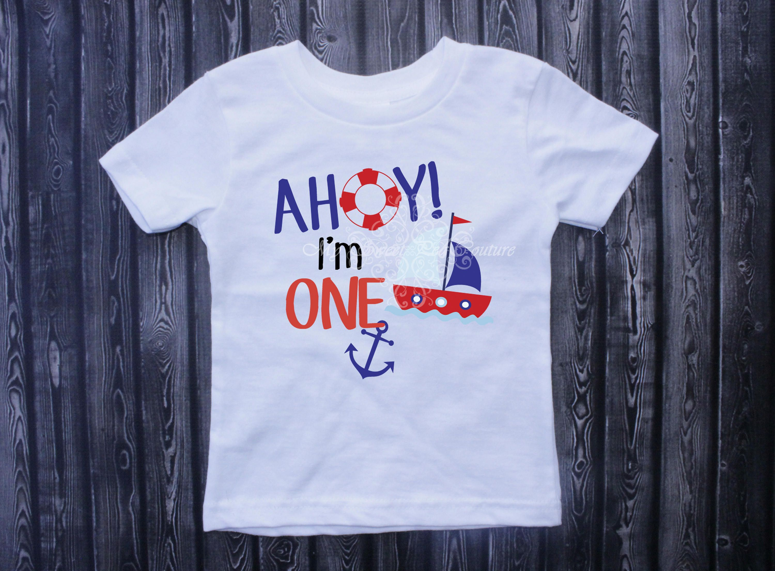 6bfdbad7d Nautical First Birthday Outfit- First Birthday- 1st Birthday Outfit- Nautical  Birthday- Sailing Birthday-Ahoy I m One- Anchor- One by MySweetPeaCouture  on ...
