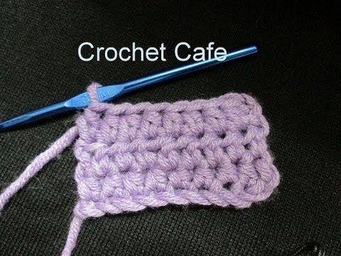 دروس تعليم الكروشيه للمبتدئين الدرس 5 كروشيه غرزة النصف عمود Youtube Crochet Hats Crochet Shoes Tunisian Crochet