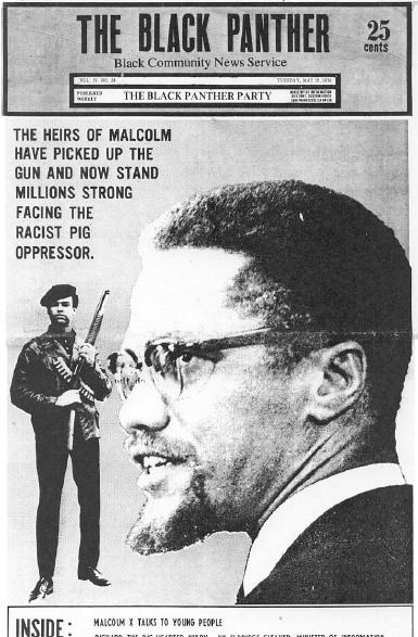 even though malcolm x eventually embraced non violence i am not sure what you mean malcolm said i don t believe in any kind of nonviolence