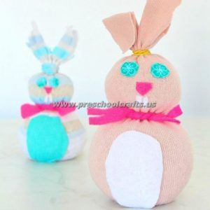 easter bunny crafts for kids preschool and kindergarten bunny