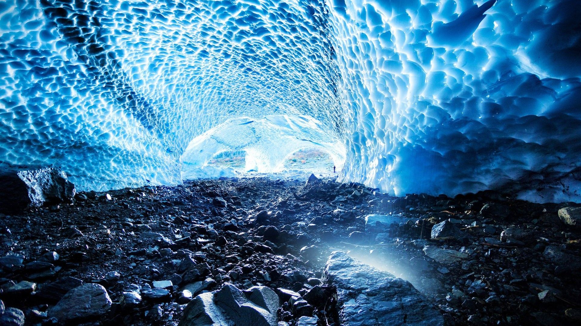 Ice Cave Washington | New wallpapers | Forest wallpaper ...