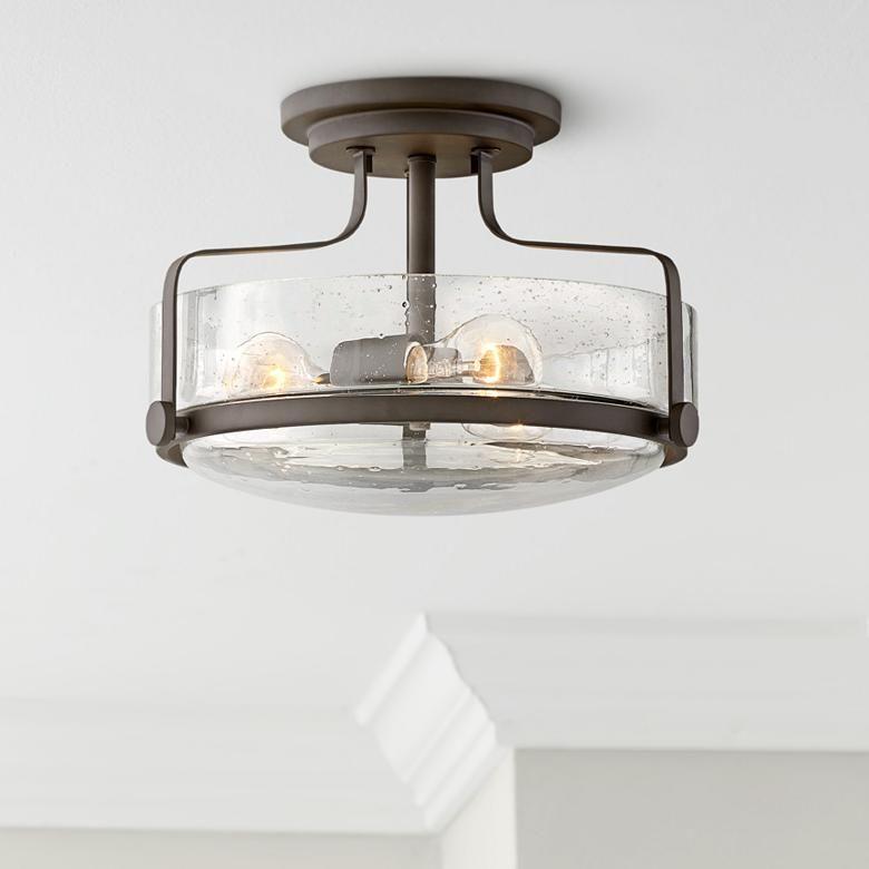 Harper 14 1 2 Wide Oil Rubbed Bronze 3 Light Ceiling Light