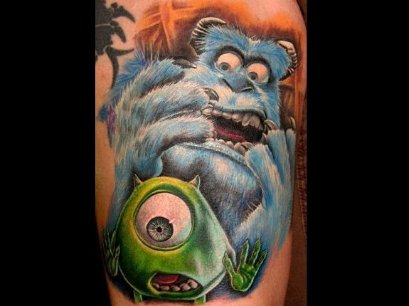 The Best Ink From \'Inc\': The Top 10 \'Monsters Inc\' Tattoos | 3d ...