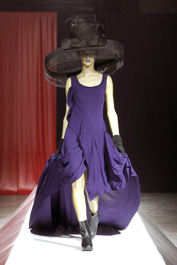 Yohji Yamamoto Femme 2012 Collection © Monica FEUDI
