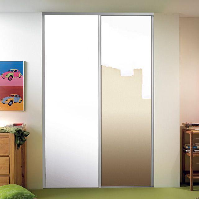 1 porte de placard coulissante à peindre 62,2 x 245,6 Valla