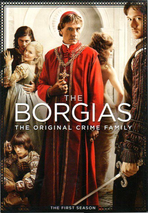 The Borgias - The First Season [3 Discs] DVD Region 1, NTSC