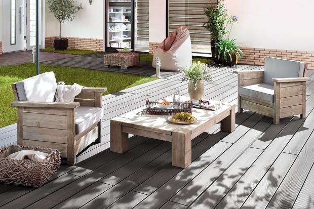 Balkon \ Terrasse Outdoor-Bodenbeläge aus Holz und WPC - renovierung der holzterrasse